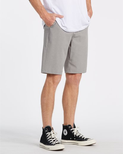 "3 Crossfire 21"" - Submersible Shorts für Herren Grau S1WK19BIP0 Billabong"
