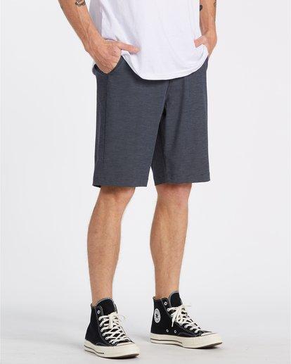 """3 Crossfire 21"""" - Pantalones cortos sumergibles para Hombre Azul S1WK19BIP0 Billabong"""