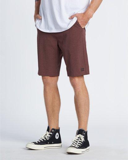 """2 Crossfire 21"""" - Pantalones cortos sumergibles para Hombre Rojo S1WK19BIP0 Billabong"""
