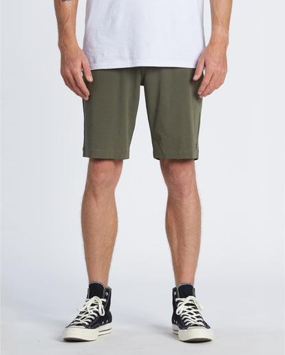 """0 Crossfire 21"""" - Pantalones cortos sumergibles para Hombre Camo S1WK19BIP0 Billabong"""