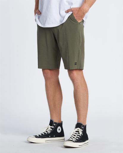 """2 Crossfire 21"""" - Pantalones cortos sumergibles para Hombre Camo S1WK19BIP0 Billabong"""