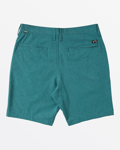 """1 Crossfire Mid 19"""" - Submersible Shorts for Men Green S1WK21BIP0 Billabong"""