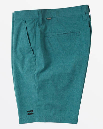 """2 Crossfire Mid 19"""" - Submersible Shorts for Men Green S1WK21BIP0 Billabong"""