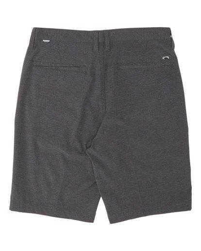 "2 Crossfire Mid 19"" - Pantalones cortos sumergibles para Hombre Negro S1WK21BIP0 Billabong"