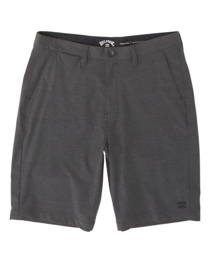 "1 Crossfire Mid 19"" - Pantalones cortos sumergibles para Hombre Negro S1WK21BIP0 Billabong"