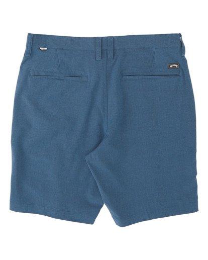 """4 Crossfire Mid 19"""" - Pantalones cortos sumergibles para Hombre Azul S1WK21BIP0 Billabong"""