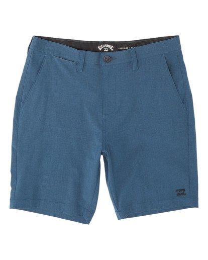 """3 Crossfire Mid 19"""" - Pantalones cortos sumergibles para Hombre Azul S1WK21BIP0 Billabong"""