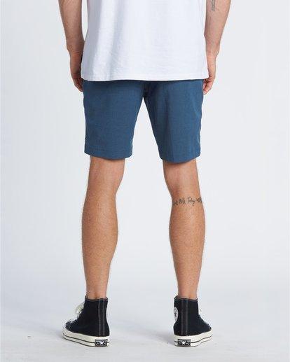 """1 Crossfire Mid 19"""" - Pantalones cortos sumergibles para Hombre Azul S1WK21BIP0 Billabong"""