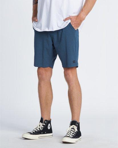 """2 Crossfire Mid 19"""" - Pantalones cortos sumergibles para Hombre Azul S1WK21BIP0 Billabong"""