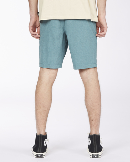 """7 Crossfire Mid 19"""" - Submersible Shorts for Men Green S1WK21BIP0 Billabong"""