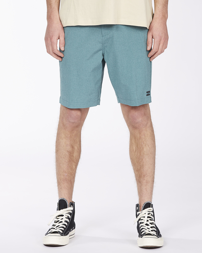 """4 Crossfire Mid 19"""" - Submersible Shorts for Men Green S1WK21BIP0 Billabong"""