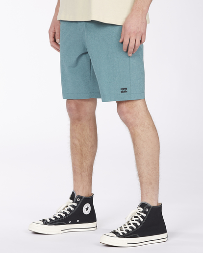 """5 Crossfire Mid 19"""" - Submersible Shorts for Men Green S1WK21BIP0 Billabong"""
