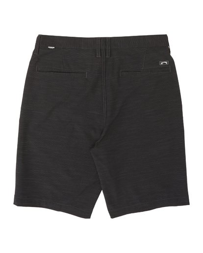 """4 Crossfire Slub 21"""" - Pantalones cortos sumergibles para Hombre Negro S1WK24BIP0 Billabong"""