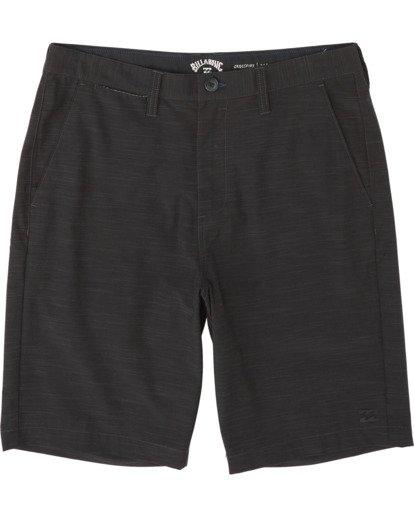 """3 Crossfire Slub 21"""" - Pantalones cortos sumergibles para Hombre Negro S1WK24BIP0 Billabong"""