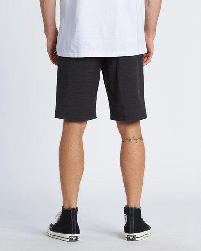 """2 Crossfire Slub 21"""" - Pantalones cortos sumergibles para Hombre Negro S1WK24BIP0 Billabong"""