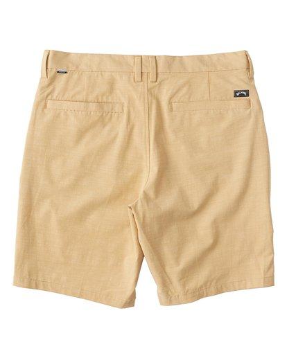 6 New Order Slub - Pantalones cortos sumergibles para Hombre Amarillo S1WK26BIP0 Billabong