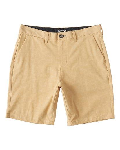 5 New Order Slub - Pantalones cortos sumergibles para Hombre Amarillo S1WK26BIP0 Billabong