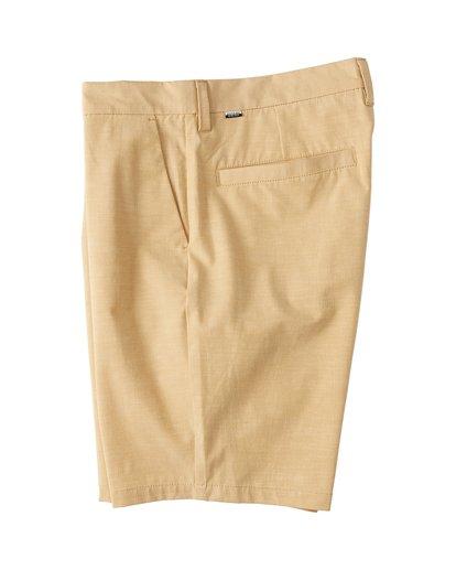 8 New Order Slub - Pantalones cortos sumergibles para Hombre Amarillo S1WK26BIP0 Billabong