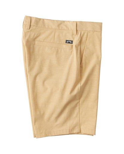 9 New Order Slub - Pantalones cortos sumergibles para Hombre Amarillo S1WK26BIP0 Billabong