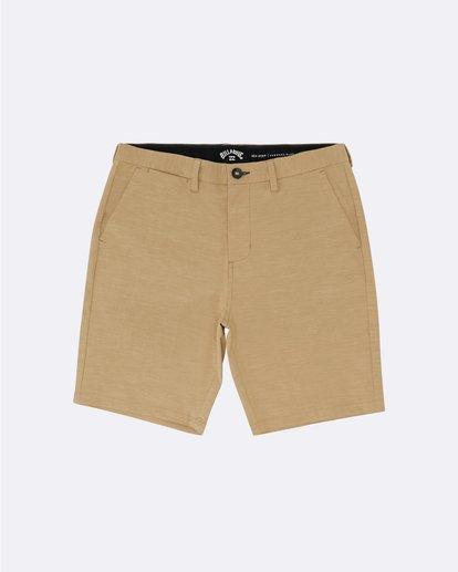 3 New Order Slub - Pantalones cortos sumergibles para Hombre Amarillo S1WK26BIP0 Billabong
