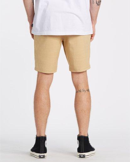 1 New Order Slub - Pantalones cortos sumergibles para Hombre Amarillo S1WK26BIP0 Billabong