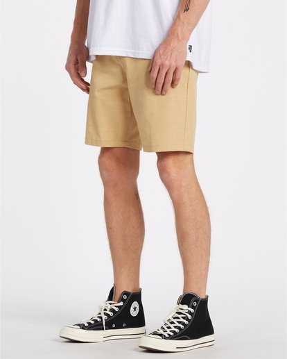 2 New Order Slub - Pantalones cortos sumergibles para Hombre Amarillo S1WK26BIP0 Billabong