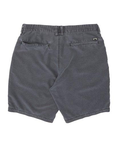 """1 New Order Ovd 19"""" - Pantalones cortos sumergibles para Hombre Negro S1WK27BIP0 Billabong"""