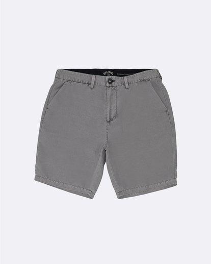 """0 New Order Ovd 19"""" - Pantalones cortos sumergibles para Hombre Blanco S1WK27BIP0 Billabong"""