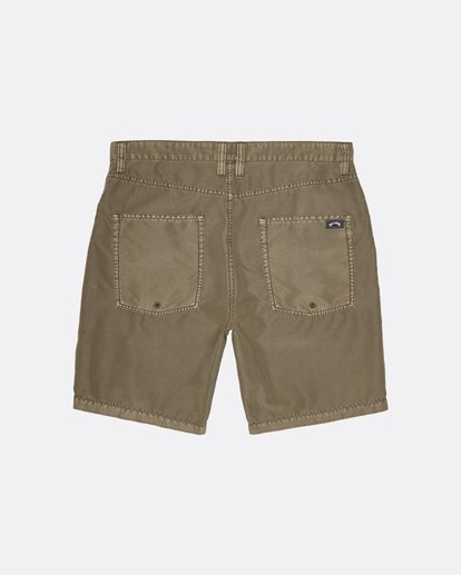 1 Outsider Submersible - Pantalones cortos para Hombre Verde S1WK29BIP0 Billabong