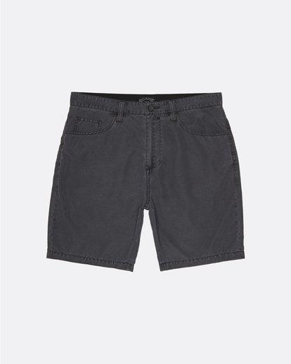 0 Outsider Submersible - Pantalones cortos para Hombre Gris S1WK29BIP0 Billabong