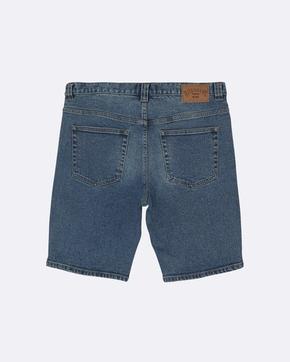 "1 Outsider Denim 20"" - Pantalones vaqueros cortos para Hombre Azul S1WK31BIP0 Billabong"