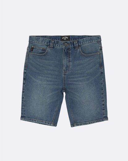 "0 Outsider Denim 20"" - Pantalones vaqueros cortos para Hombre Azul S1WK31BIP0 Billabong"
