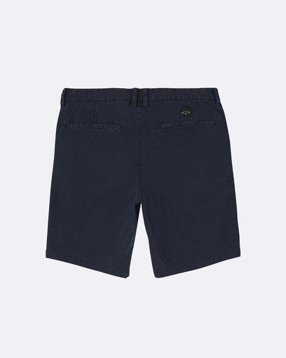 "1 New Order Wave Wash 19"" - Pantalones cortos para Hombre Azul S1WK33BIP0 Billabong"