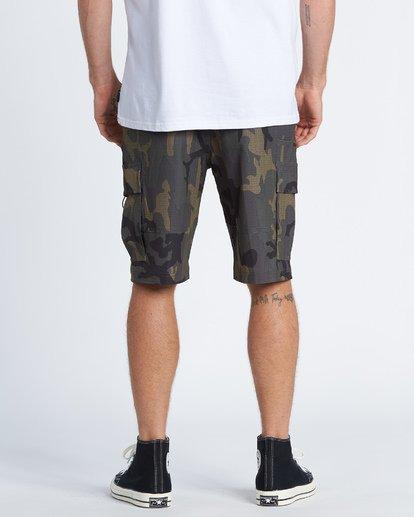 """1 Combat Bbo Submersible 21"""" - Bañador de surf de pantalón / Pantalones cortos híbridos para Hombre Verde S1WK37BIP0 Billabong"""