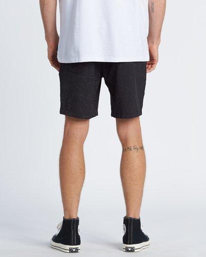 "1 Surftrek Rflx Elastic 18"" - Pantalones cortos de alto rendimiento para Hombre Negro S1WK38BIP0 Billabong"
