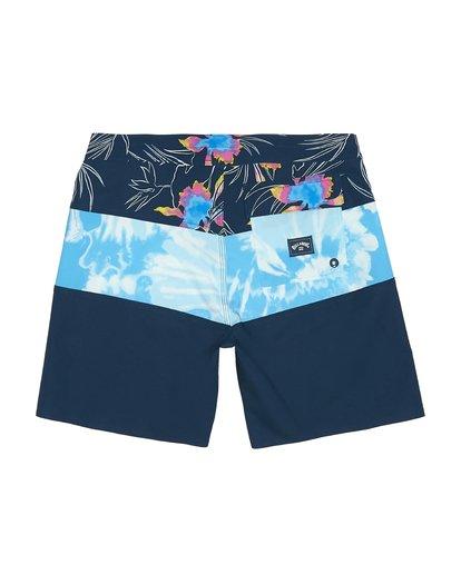 "3 Tribong Pro 17"" - Bedruckte Boardshorts für Jungen Blau S2BS13BIP0 Billabong"
