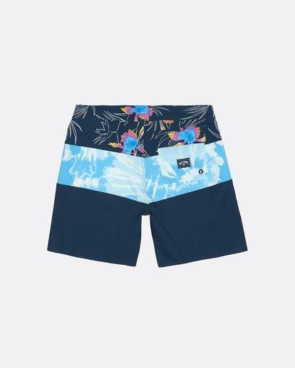 "1 Tribong Pro 17"" - Bedruckte Boardshorts für Jungen Blau S2BS13BIP0 Billabong"
