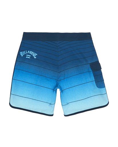 """3 73 Strippe Pro 18"""" - Bañador de surf de pantalón de rayas para Niño Azul S2BS14BIP0 Billabong"""