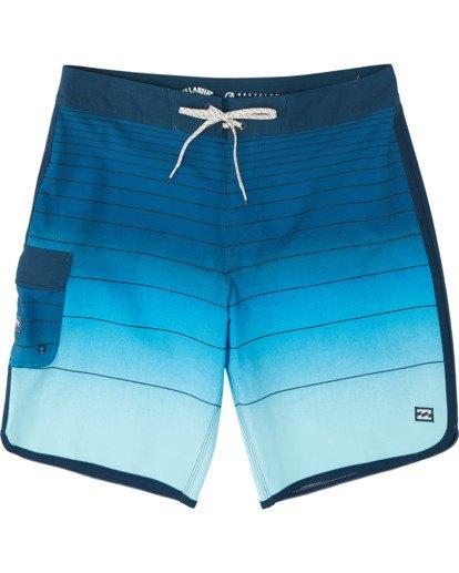 """2 73 Strippe Pro 18"""" - Bañador de surf de pantalón de rayas para Niño Azul S2BS14BIP0 Billabong"""