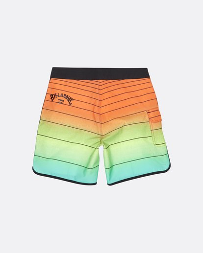 "1 73 Strippe Pro 18"" - Gestreifte Boardshorts für Jungen Orange S2BS14BIP0 Billabong"