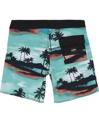 """3 Sundays Pro 17"""" - Bañador de surf de pantalón con estampado para Niño Azul S2BS15BIP0 Billabong"""