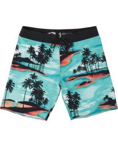 """2 Sundays Pro 17"""" - Bañador de surf de pantalón con estampado para Niño Azul S2BS15BIP0 Billabong"""