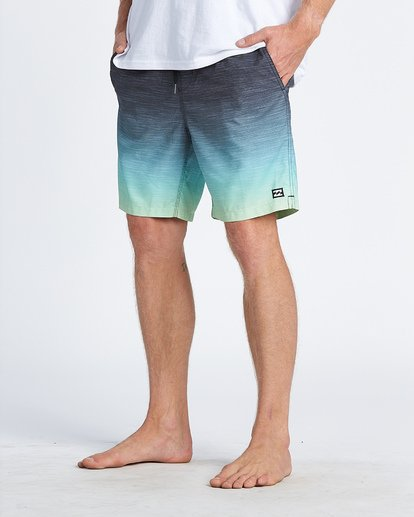 "11 All Day Faded Pro 19"" - Boardshorts für Jungen Gelb S2BS17BIP0 Billabong"