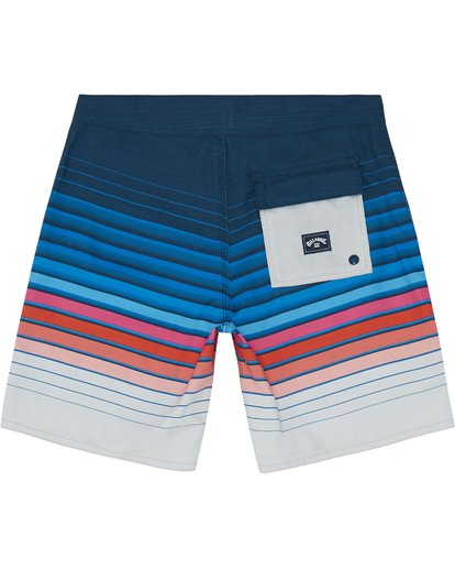 "3 All Day Stripe 20"" - Gestreifte Boardshorts für Jungen Blau S2BS21BIP0 Billabong"