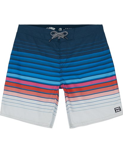 "2 All Day Stripe 20"" - Gestreifte Boardshorts für Jungen Blau S2BS21BIP0 Billabong"