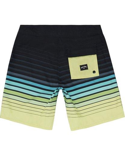 """3 All Day Stripe 20"""" - Gestreifte Boardshorts für Jungen Grün S2BS21BIP0 Billabong"""