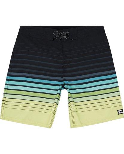 """2 All Day Stripe 20"""" - Gestreifte Boardshorts für Jungen Grün S2BS21BIP0 Billabong"""