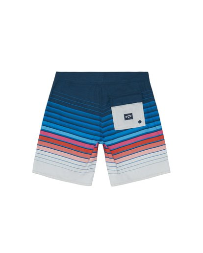 "1 All Day Stripe 20"" - Gestreifte Boardshorts für Jungen Blau S2BS21BIP0 Billabong"