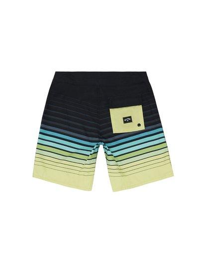 """1 All Day Stripe 20"""" - Gestreifte Boardshorts für Jungen Grün S2BS21BIP0 Billabong"""