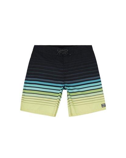 """0 All Day Stripe 20"""" - Gestreifte Boardshorts für Jungen Grün S2BS21BIP0 Billabong"""